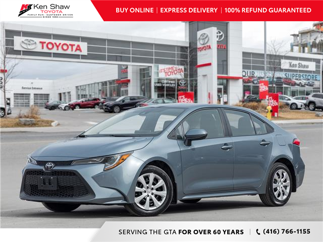 2020 Toyota Corolla LE (Stk: A17784A) in Toronto - Image 1 of 21