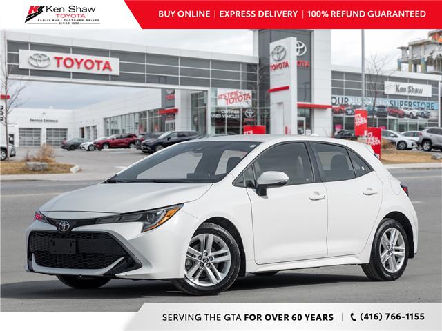 2019 Toyota Corolla Hatchback Base (Stk: A17763A) in Toronto - Image 1 of 21