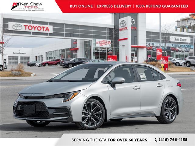 2021 Toyota Corolla SE (Stk: 80676) in Toronto - Image 1 of 23