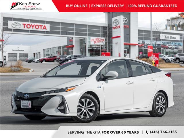 2020 Toyota Prius Prime Upgrade (Stk: T17777A) in Toronto - Image 1 of 25