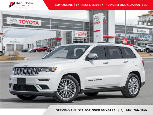 2018 Jeep Grand Cherokee Summit (Stk: I17729A) in Toronto - Image 1 of 26