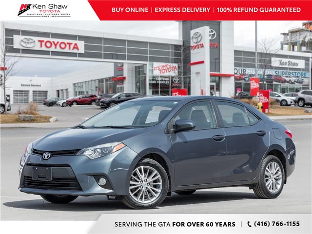 2014 Toyota Corolla CE (Stk: N80513A) in Toronto - Image 1 of 22