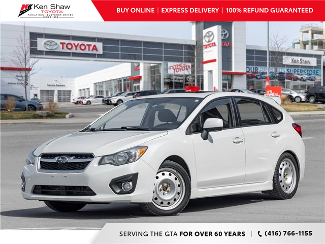 2012 Subaru Impreza 2.0i Touring Package (Stk: N80619A) in Toronto - Image 1 of 20