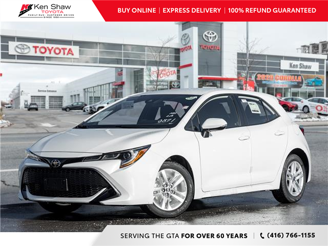 2021 Toyota Corolla Hatchback Base (Stk: 80717) in Toronto - Image 1 of 21