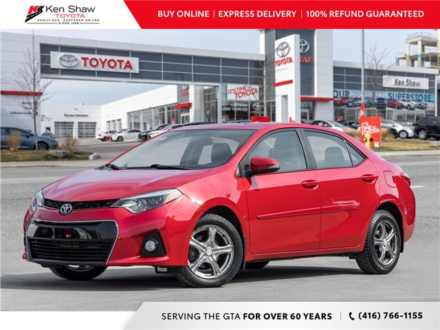 2016 Toyota Corolla S (Stk: A17776A) in Toronto - Image 1 of 22