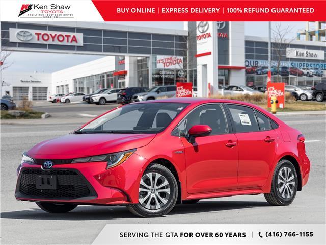 2021 Toyota Corolla Hybrid Base w/Li Battery (Stk: 80721) in Toronto - Image 1 of 24
