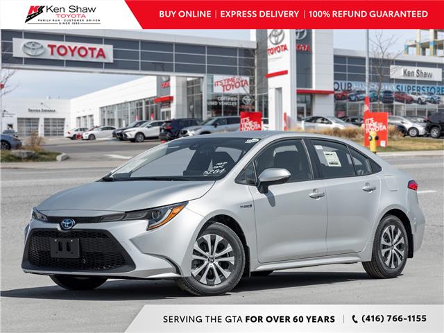 2021 Toyota Corolla Hybrid Base w/Li Battery (Stk: 80712) in Toronto - Image 1 of 23