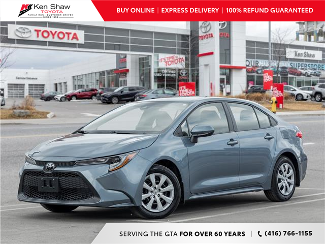 2020 Toyota Corolla LE (Stk: P17890A) in Toronto - Image 1 of 21