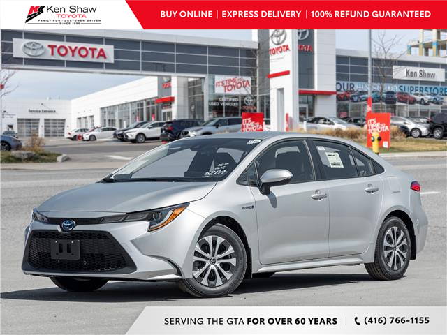 2021 Toyota Corolla Hybrid Base w/Li Battery (Stk: 80778) in Toronto - Image 1 of 18