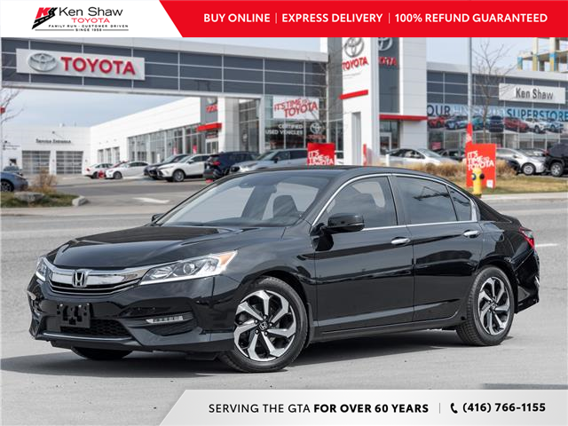 2016 Honda Accord EX-L (Stk: I17885A) in Toronto - Image 1 of 25