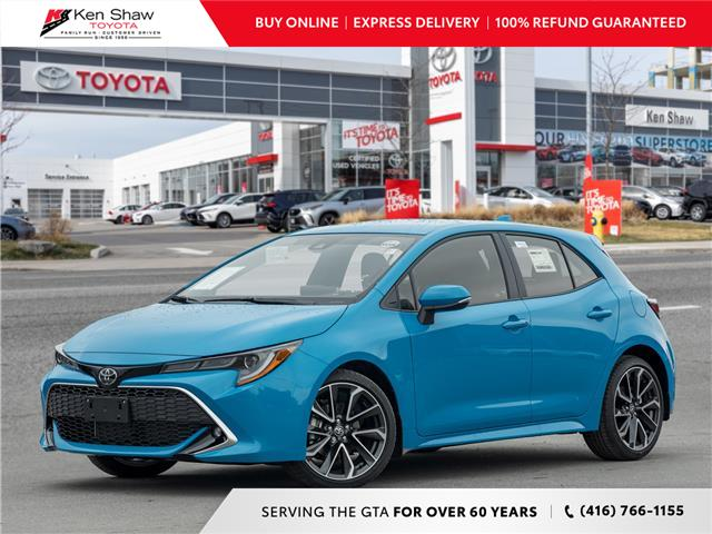 2021 Toyota Corolla Hatchback Base (Stk: 80787) in Toronto - Image 1 of 23