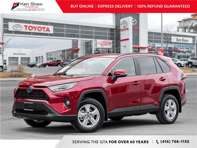 2021 Toyota RAV4 XLE (Stk: 80813) in Toronto - Image 1 of 17