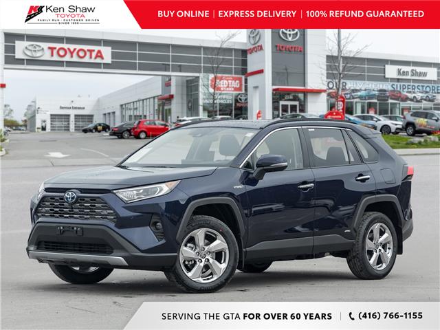 2021 Toyota RAV4 Hybrid Limited (Stk: 80769) in Toronto - Image 1 of 26