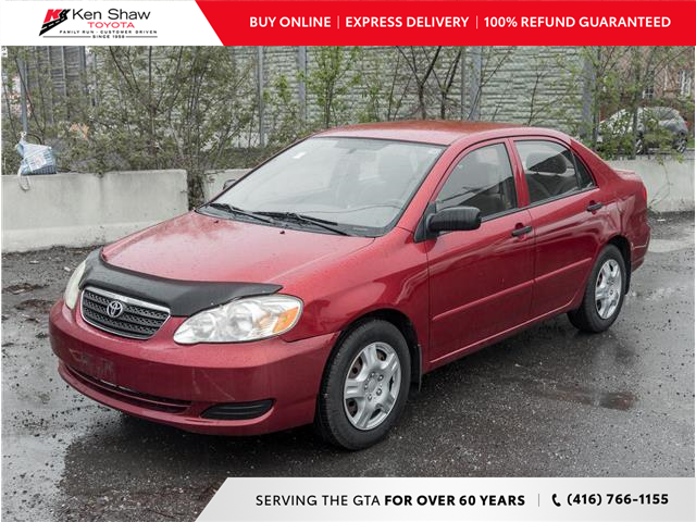 2007 Toyota Corolla CE (Stk: P17859A) in Toronto - Image 1 of 2
