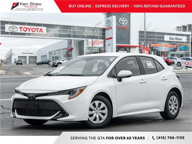 2021 Toyota Corolla Hatchback Base (Stk: 80827) in Toronto - Image 1 of 18