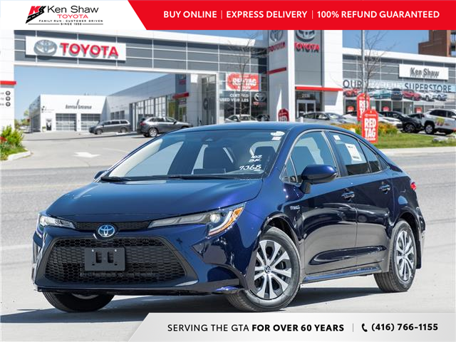 2021 Toyota Corolla Hybrid Base w/Li Battery (Stk: 80850) in Toronto - Image 1 of 25