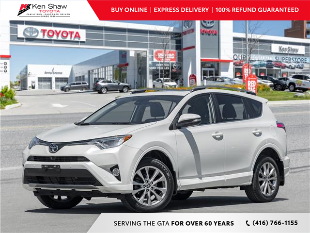 2018 Toyota RAV4 Limited (Stk: N80815A) in Toronto - Image 1 of 24