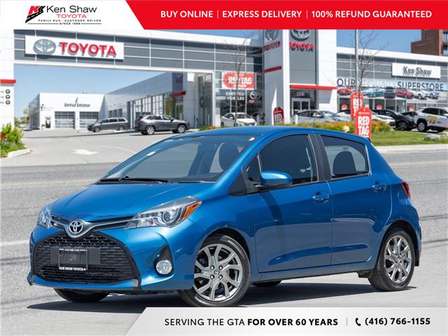 2015 Toyota Yaris SE (Stk: N80831A) in Toronto - Image 1 of 20