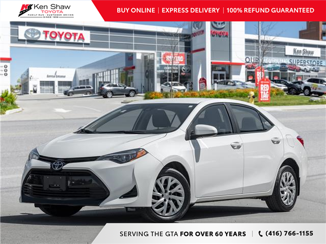 2017 Toyota Corolla LE (Stk: R18009A) in Toronto - Image 1 of 21