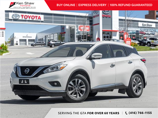 2017 Nissan Murano SL (Stk: I18048A) in Toronto - Image 1 of 24