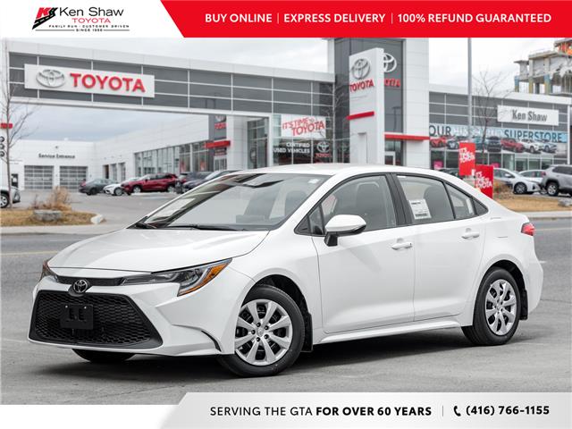 2021 Toyota Corolla LE (Stk: 81029) in Toronto - Image 1 of 20