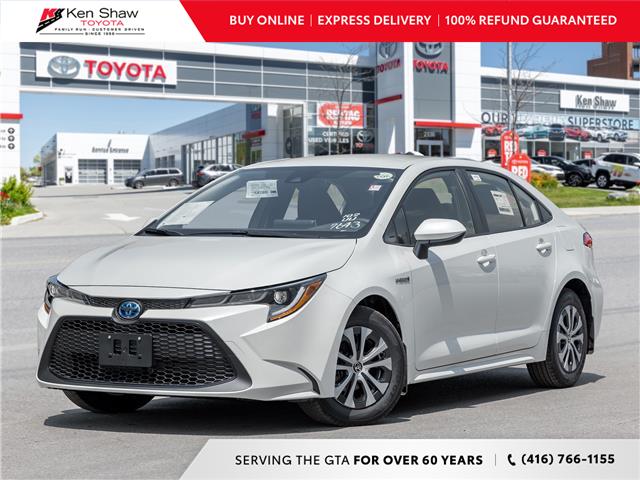 2021 Toyota Corolla Hybrid Base w/Li Battery (Stk: 81030) in Toronto - Image 1 of 23