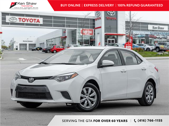 2015 Toyota Corolla LE (Stk: P18145A) in Toronto - Image 1 of 21