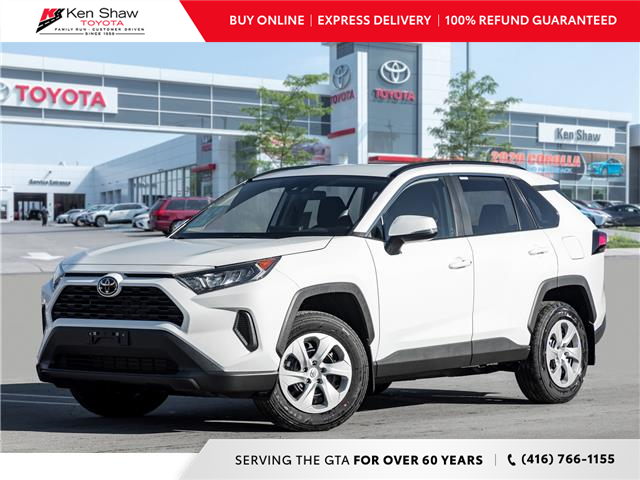 2021 Toyota RAV4 LE (Stk: 81076) in Toronto - Image 1 of 19