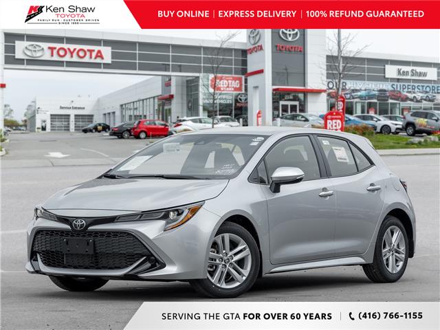 2021 Toyota Corolla Hatchback Base (Stk: 81052) in Toronto - Image 1 of 22