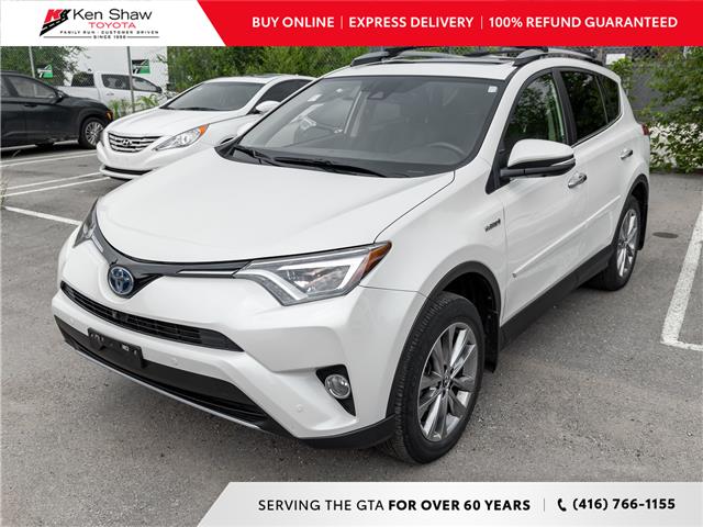 2017 Toyota RAV4 Hybrid Limited (Stk: N81032A) in Toronto - Image 1 of 4