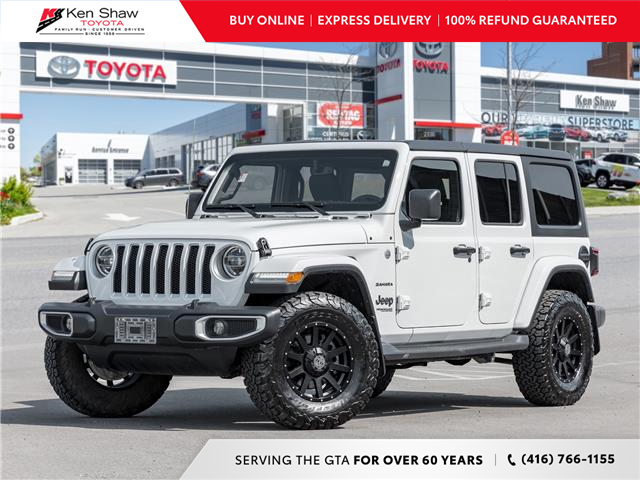 2019 Jeep Wrangler Unlimited Sahara (Stk: I18144A) in Toronto - Image 1 of 23