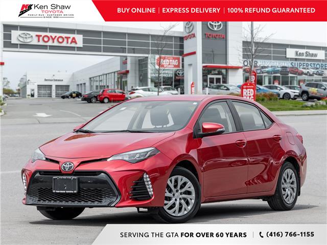 2018 Toyota Corolla SE (Stk: N8381XA) in Toronto - Image 1 of 22
