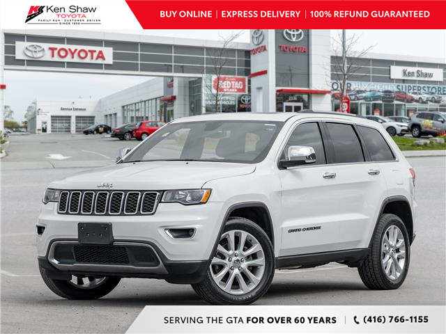 2017 Jeep Grand Cherokee Limited (Stk: I18305A) in Toronto - Image 1 of 24