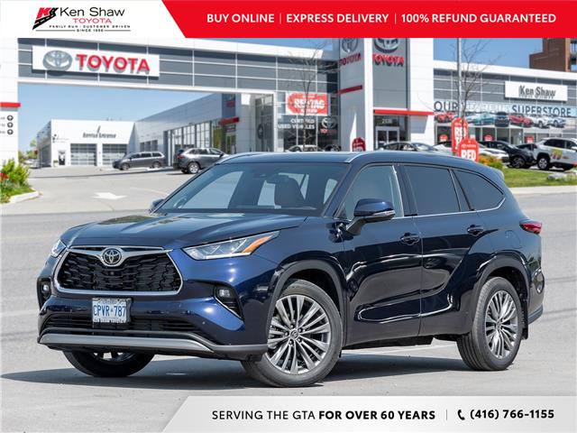 2021 Toyota Highlander Limited (Stk: 81081) in Toronto - Image 1 of 28