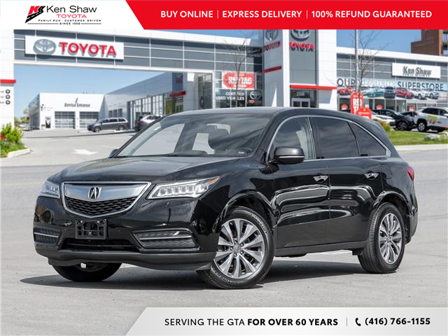 2014 Acura MDX Navigation Package (Stk: I18395A) in Toronto - Image 1 of 25