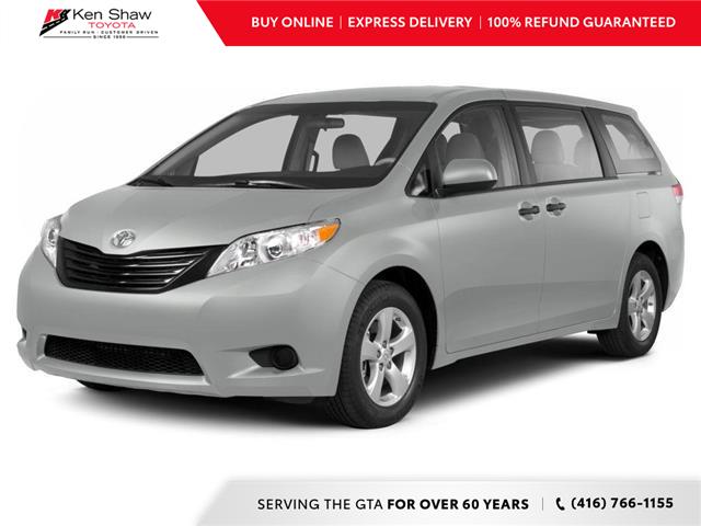 2013 Toyota Sienna V6 7 Passenger (Stk: 6646X) in Toronto - Image 1 of 10
