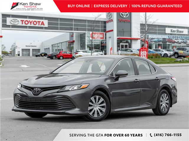 2019 Toyota Camry LE (Stk: E18476A) in Toronto - Image 1 of 20