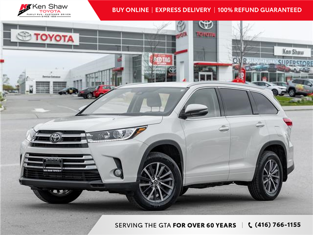 2018 Toyota Highlander XLE (Stk: T18469A) in Toronto - Image 1 of 25