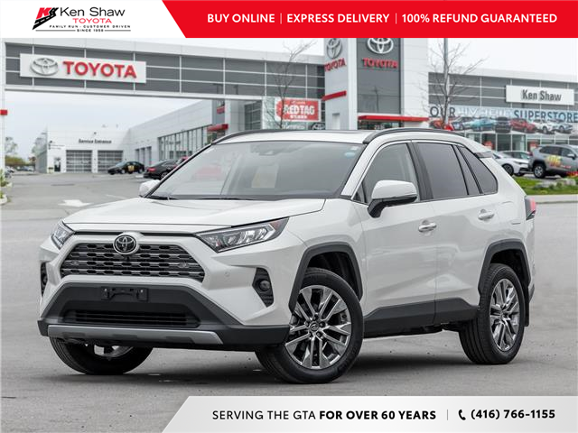 2020 Toyota RAV4 Limited (Stk: A18422A) in Toronto - Image 1 of 27
