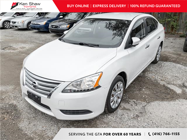 2013 Nissan Sentra 1.8 S (Stk: N80507A) in Toronto - Image 1 of 4