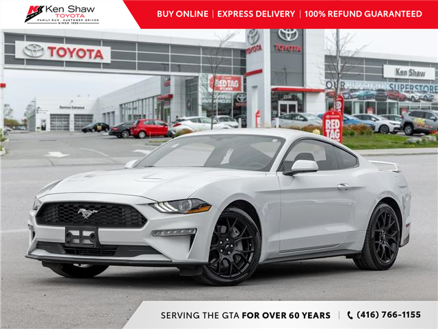 2019 Ford Mustang EcoBoost (Stk: L13394A) in Toronto - Image 1 of 22