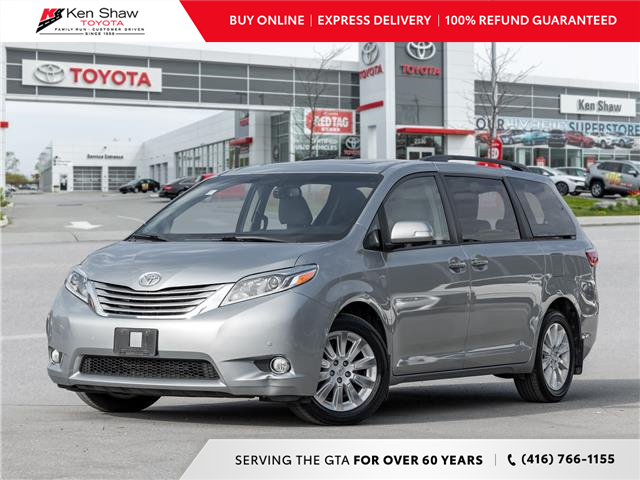 2016 Toyota Sienna XLE 7 Passenger (Stk: N81275A) in Toronto - Image 1 of 29