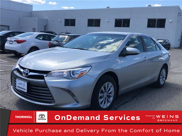 2017 Toyota Camry LE (Stk: U3178) in Concord - Image 1 of 20