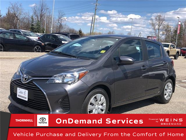 2015 Toyota Yaris LE (Stk: U3216) in Concord - Image 1 of 20