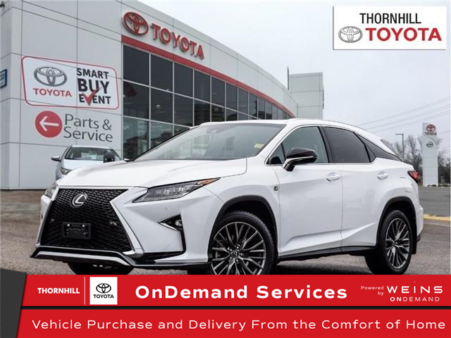 2019 Lexus RX 350 Base (Stk: U3082) in Concord - Image 1 of 27