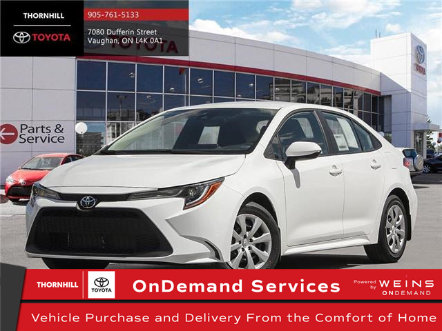 2020 Toyota Corolla LE (Stk: 70624) in Concord - Image 1 of 24