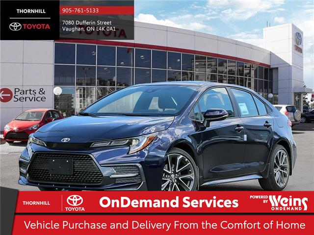 2020 Toyota Corolla XSE (Stk: 68744) in Concord - Image 1 of 11