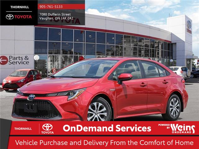 2020 Toyota Corolla Hybrid Base (Stk: 70592) in Concord - Image 1 of 24