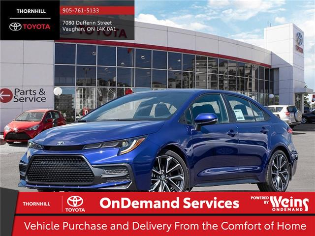 2020 Toyota Corolla SE (Stk: 68785) in Concord - Image 1 of 24