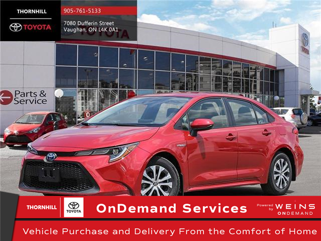 2020 Toyota Corolla Hybrid Base (Stk: 70658) in Concord - Image 1 of 24